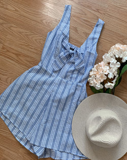 Lauryn Striped Romper