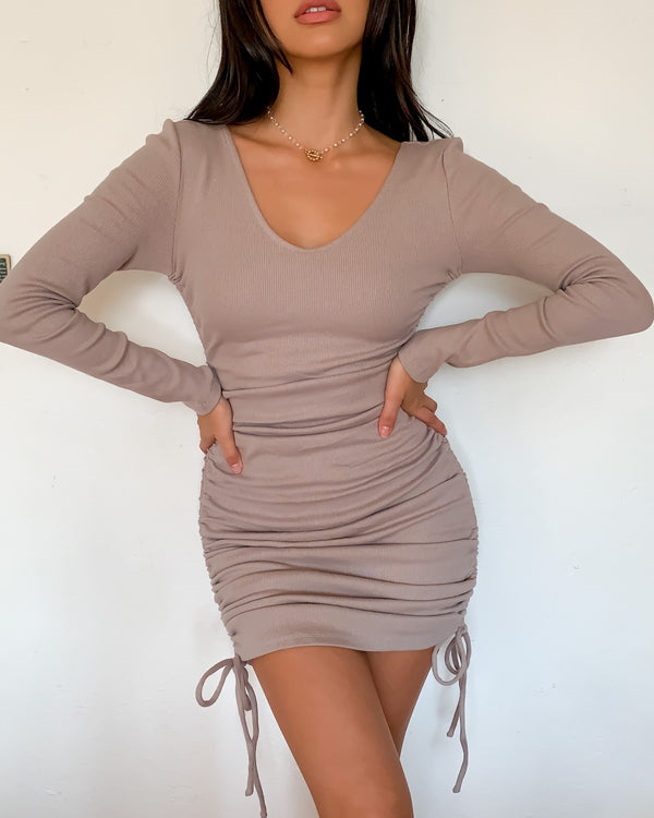 Andy Ruched Mini Dress