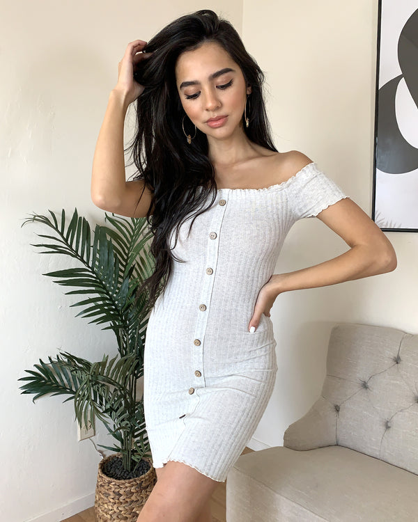 Jain Bardot Dress