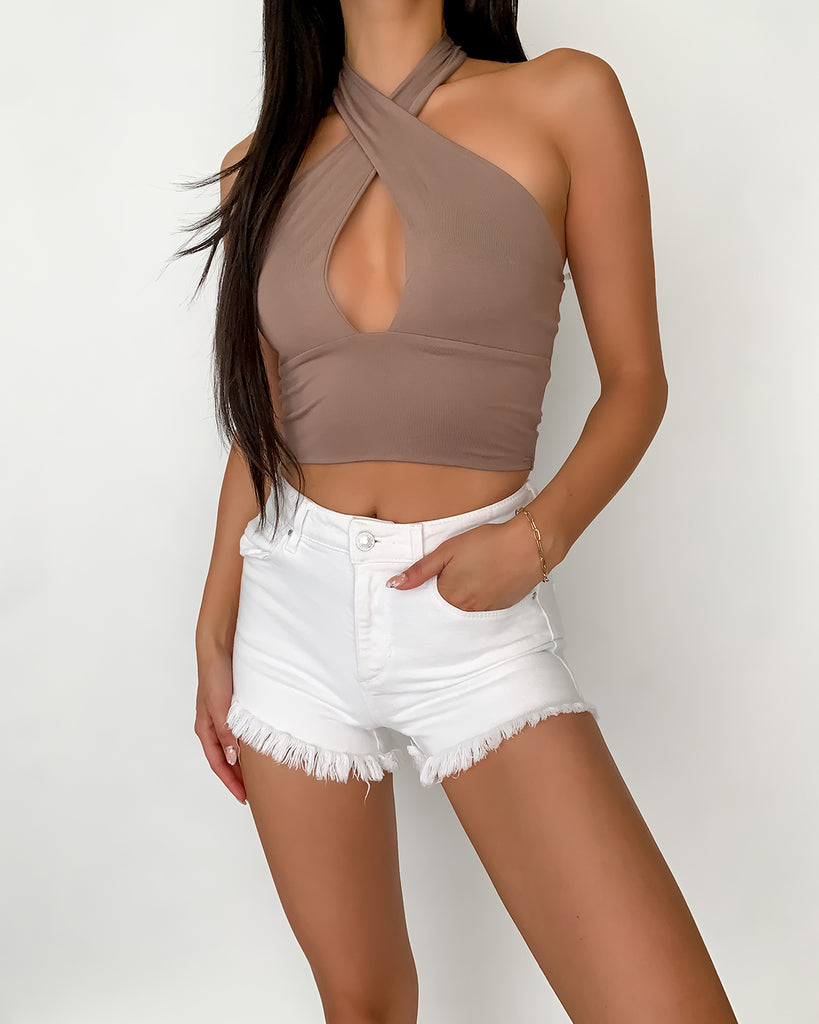 Honolulu Knotted Crop