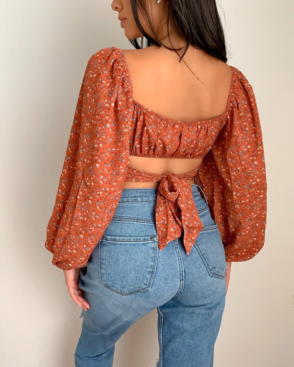 Molly Off Shoulder Crop Top