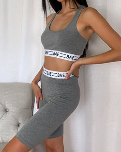 Bae Graphic Sports Bra