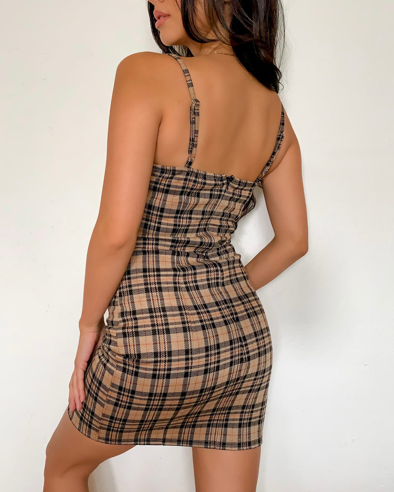 Mia Plaid Dress