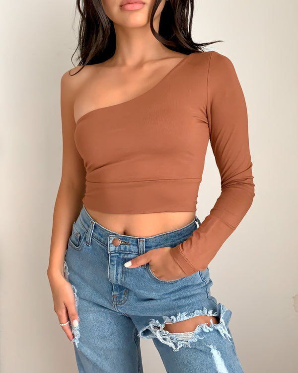 Alice One Shoulder Top