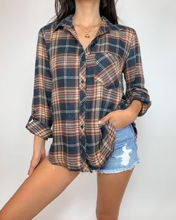 Christopher Button Down Top