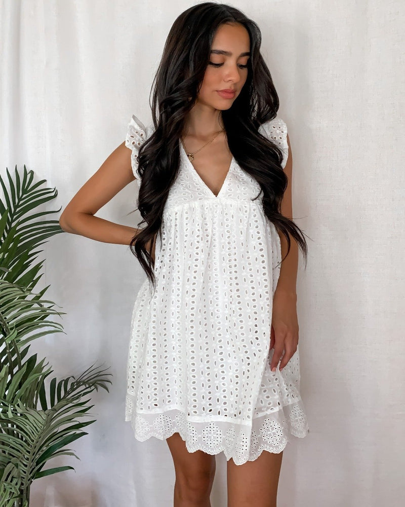Meadows Eyelet Romper