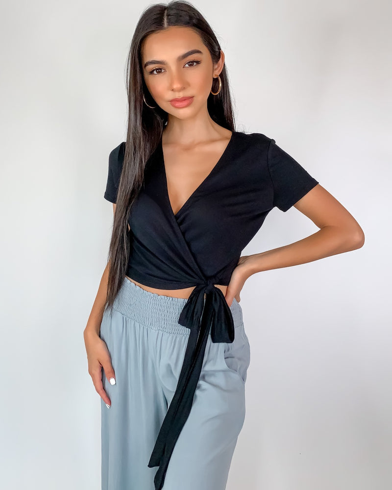 Molly Wrap Around Crop