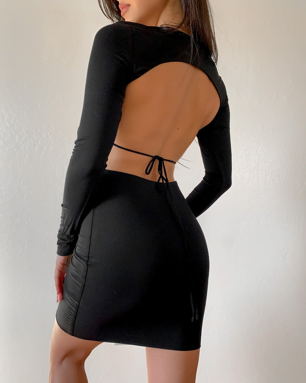 KENDALL OPEN BACK DRESS