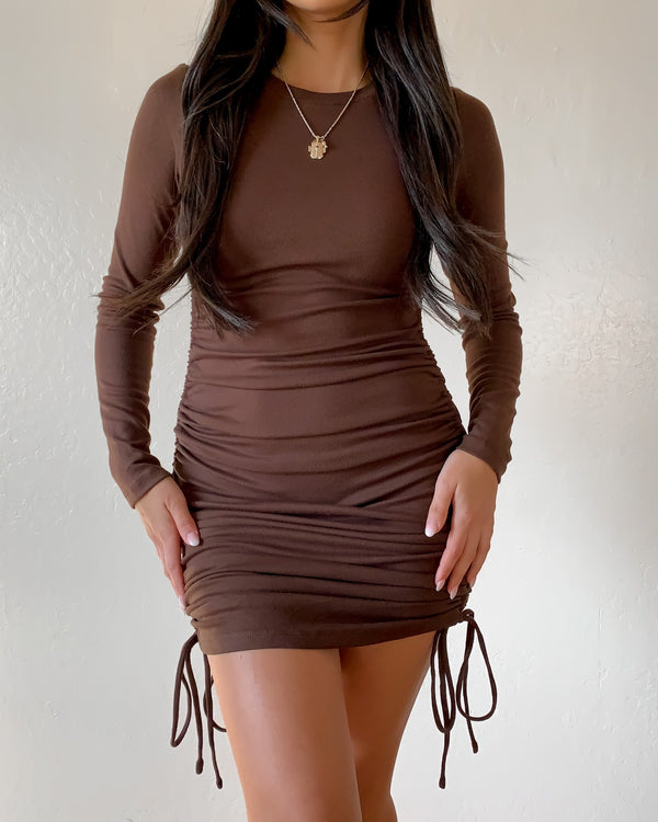 Hailey Side Ruched Dress