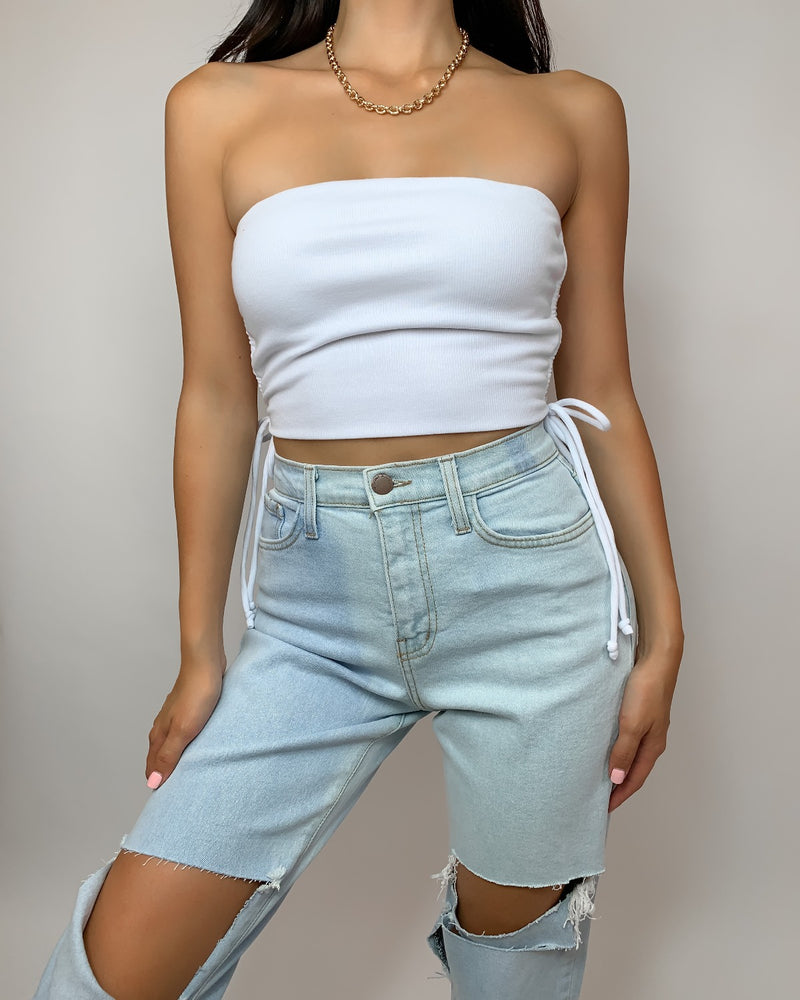 Amanda Cropped Tube Top