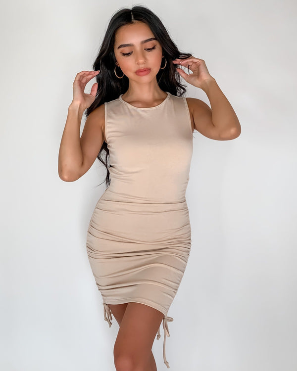 Kyles Sleeveless Knit Dress