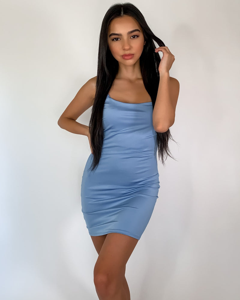 Tristan Lilac Bodycon Dress