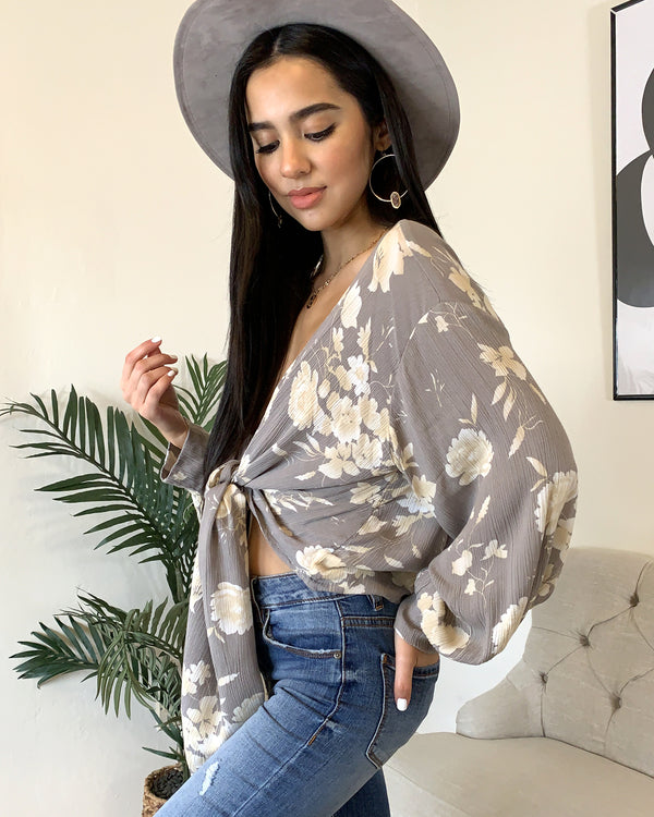 Wild Flower Blouse