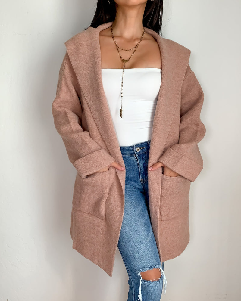 Emily Hooded Coat