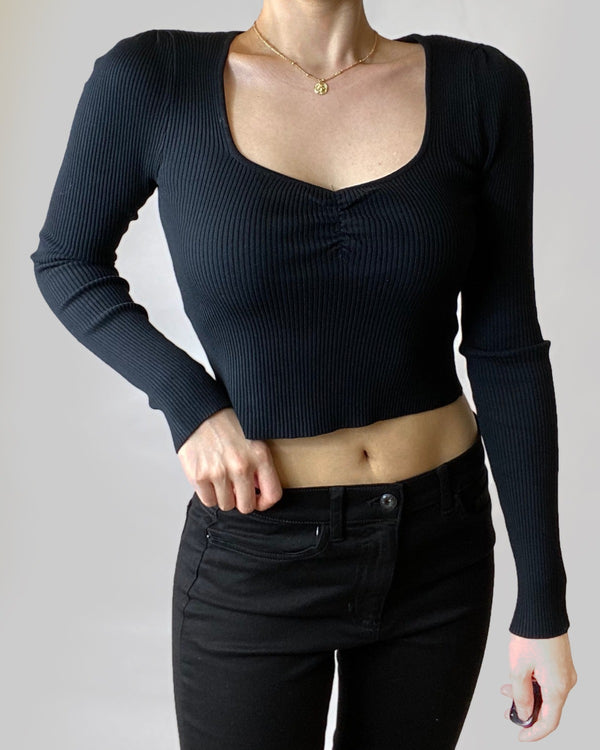 Jamie Ribbed Sweater