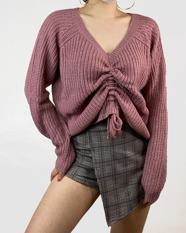 Amanda Ruched Sweater