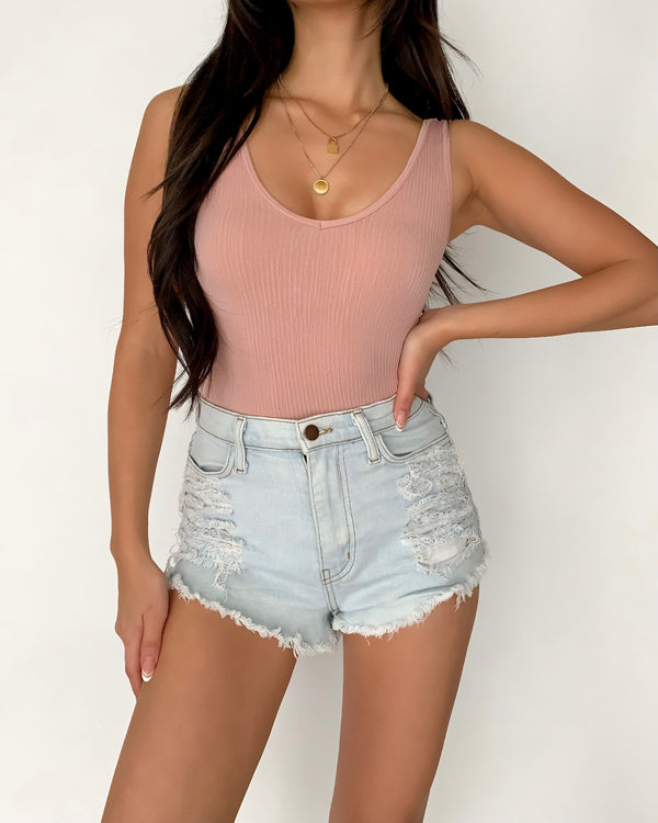 Jenny Ribbed Crop Top