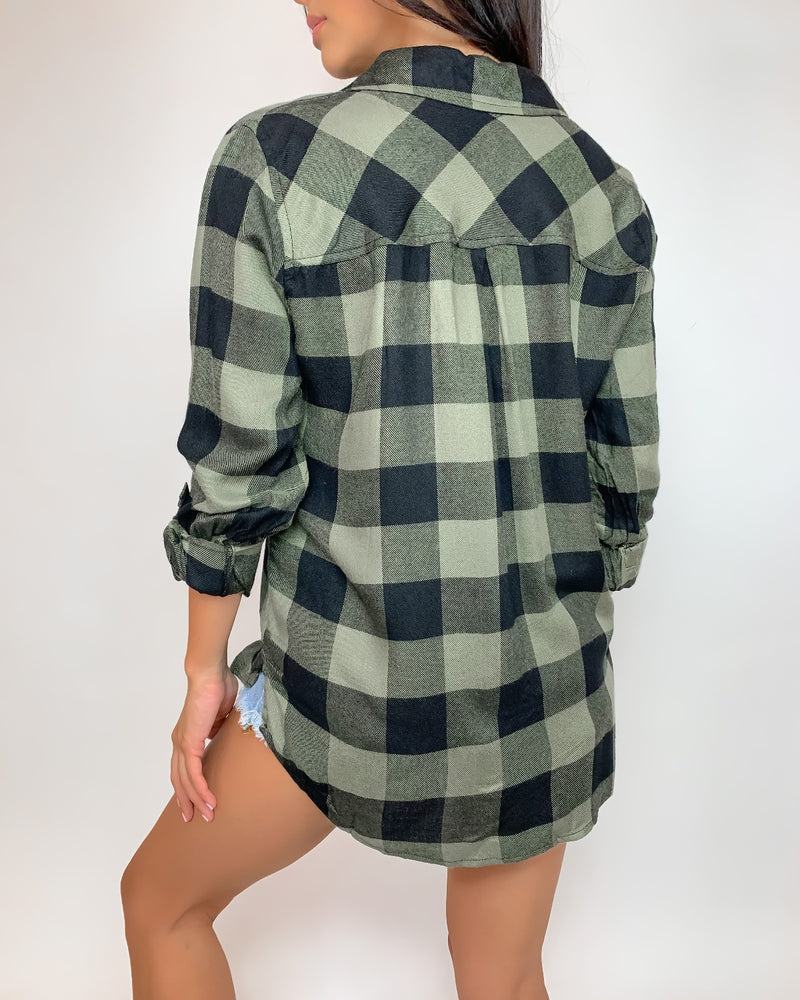 Carlton Button Down Top
