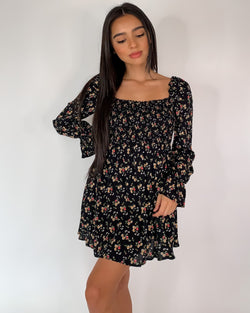 Kimmy Floral Long Sleeved Dress