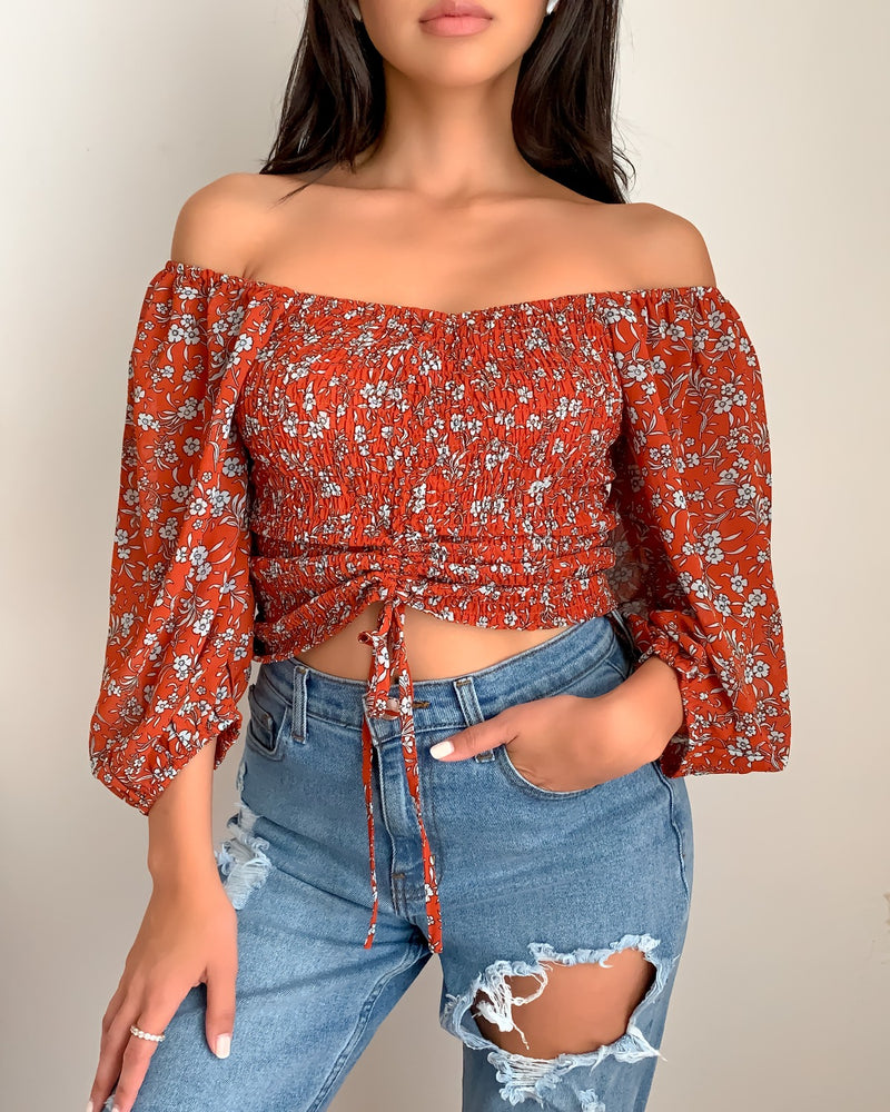 Amber Off Shoulder Top