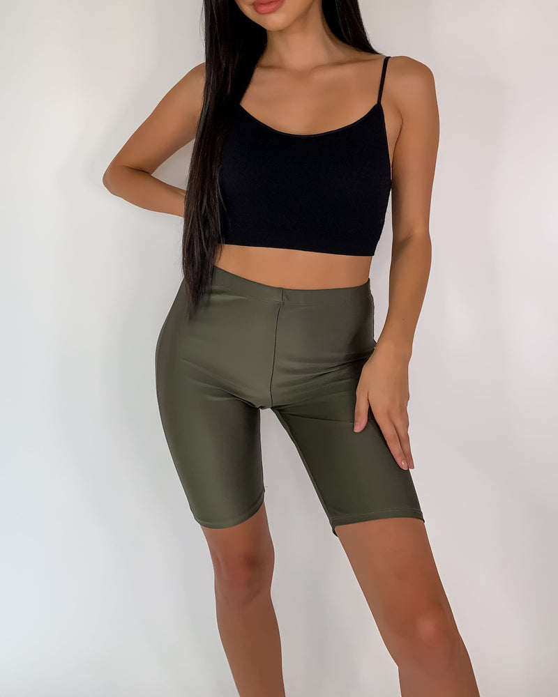 Klara High Waisted Biker Shorts