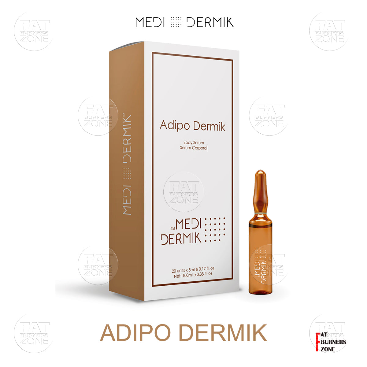 Adipo Dermik Anti-Cellulite Solution 50ml By Medidermik