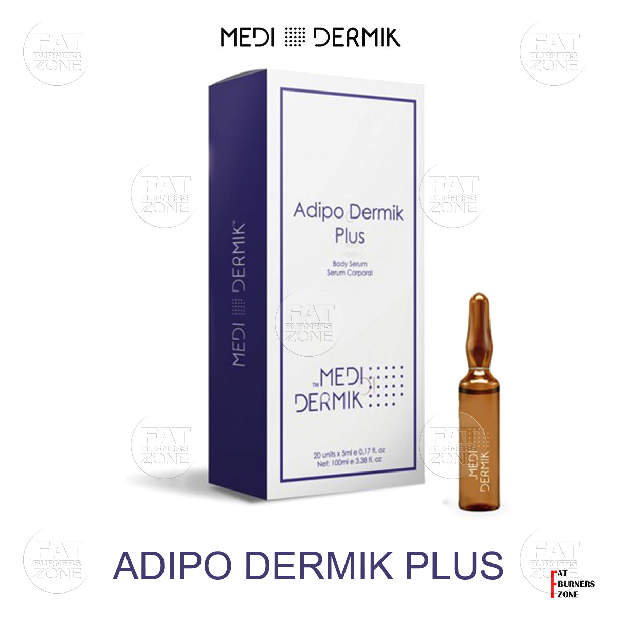 Adipo Dermik Plus 50ml Phospatidylcholine - L-Carnitine By Medidermik