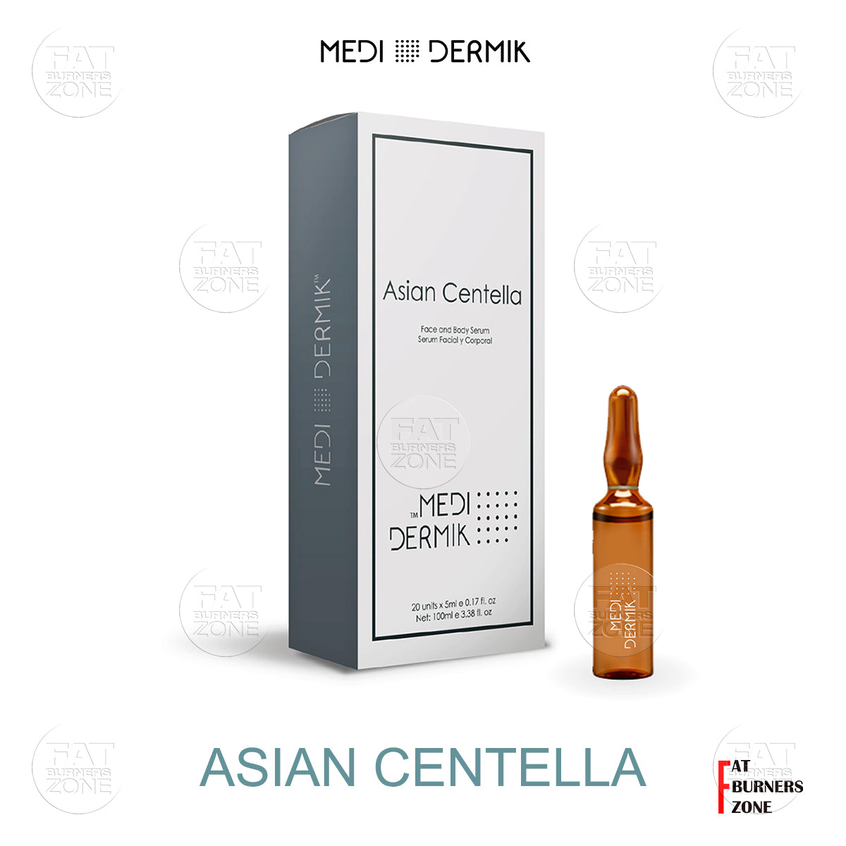Asian Centella 100ml By Medidermik