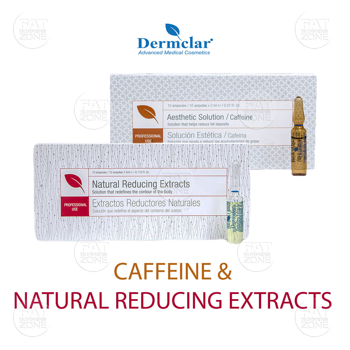 Caffeine & Natural Reducing Extracts By Dermclar