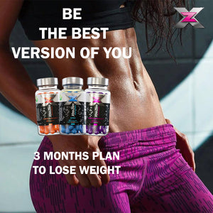 Xtra Zlim Kit Fat Burners 3 Months