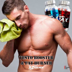 XZ For Men Kit Testoterone Booster & Fat Burner