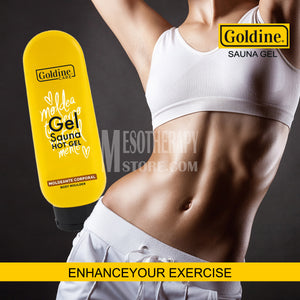 Gel Sauna Hot Gel 950gm By Goldine