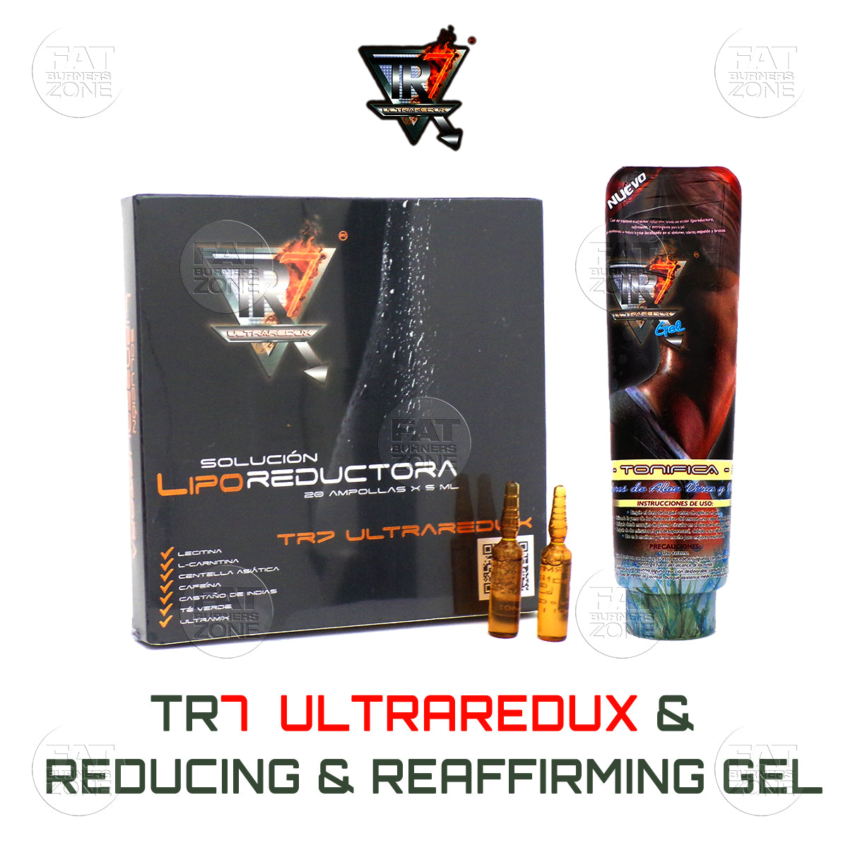 TR7 Reducing Mesotherapy 20 Amp & Reducing Gel