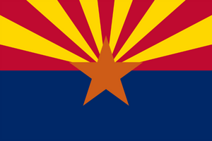 Arizona State Flag - Various Sizes - bbi Flags