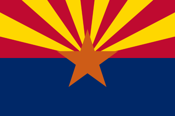 Arizona State Flag - Various Sizes