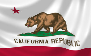California Flag- 3'x5' - bbi Flags