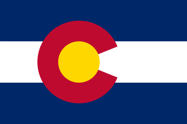 Colorado State Flag - Various Sizes