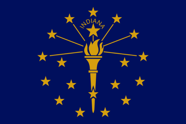 Indiana State Flag - Various Sizes