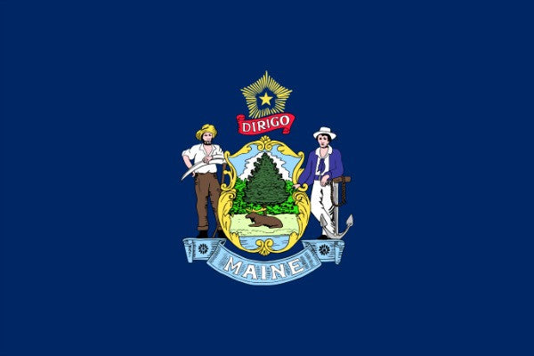 Maine State Flag - Various Sizes - bbi Flags