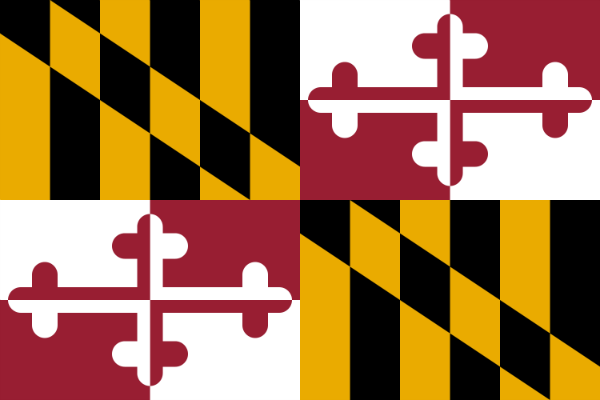 Maryland State Flag - Various Sizes