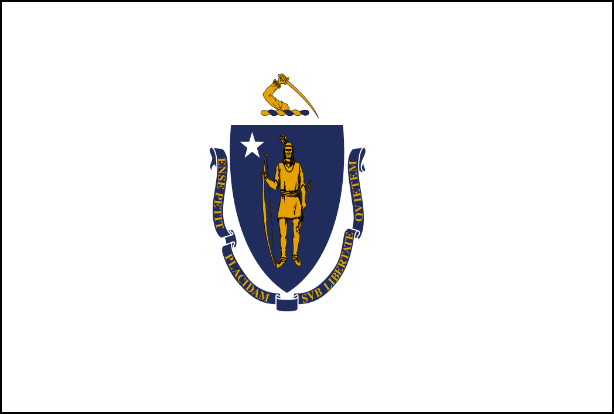Massachusetts State Flag - Various Sizes