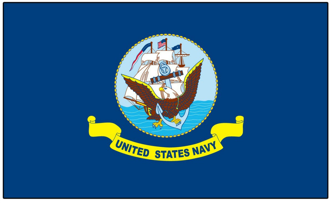 Navy Flag - bbi Flags