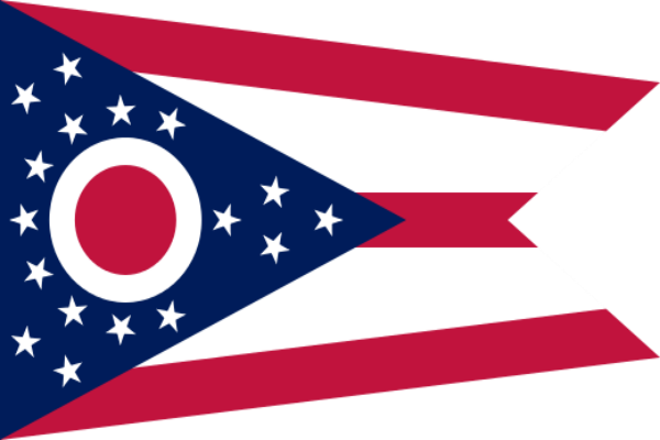 Ohio State Flag - Various Sizes - bbi Flags