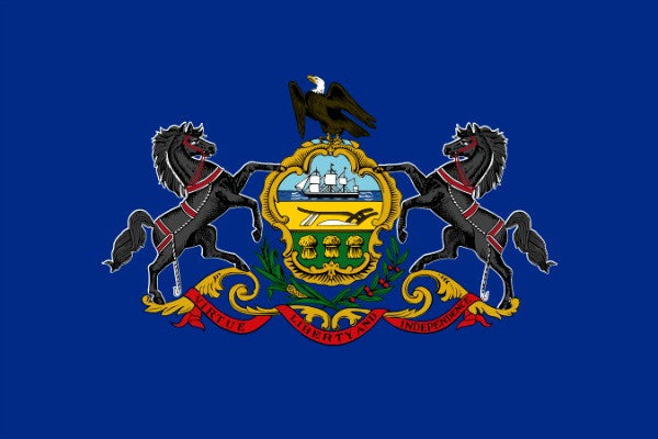 Pennsylvania State Flag - Various Sizes - bbi Flags