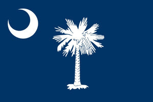 South Carolina State Flag - Various Sizes - bbi Flags