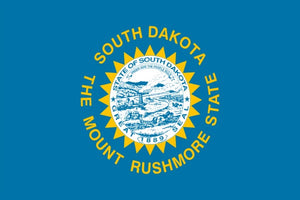 South Dakota State Flag - Various Sizes - bbi Flags