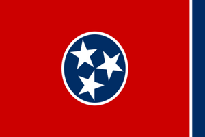 Tennessee State Flag - Various Sizes - bbi Flags
