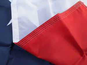 Texas State Flag-3x5, With Sewn Star and Stripes, 100% Made In The USA - bbi Flags
