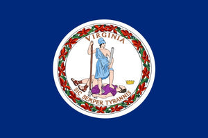 Virginia State Flag - Various Sizes - bbi Flags