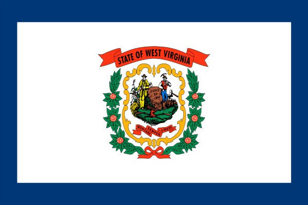 West Virginia State Flag - Various Sizes - bbi Flags